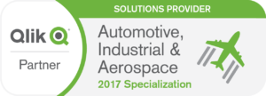 Qlik Spezialisierung Automotive Industrial Aerospace