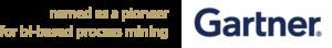 Gartner pioneer bi-based Process Mining weiß